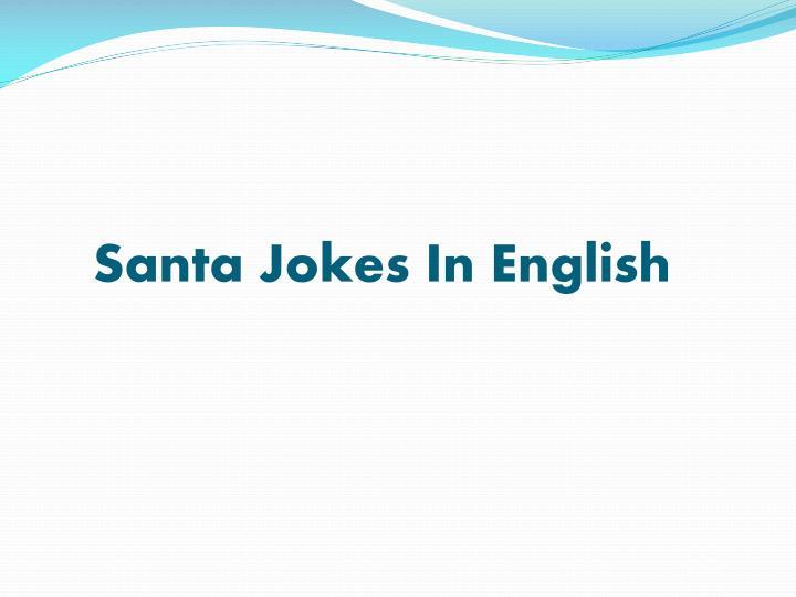 Santa Jokes In