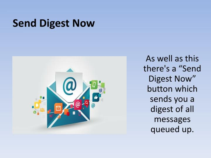 Send Digest Now
