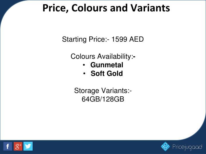 Starting Price:- 1599 AED