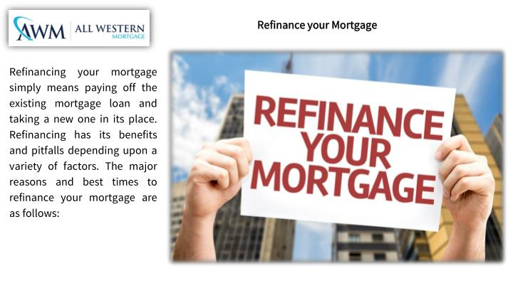 Refinance your