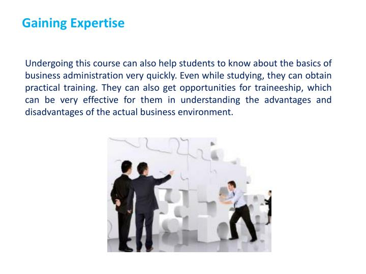 Gaining Expertise