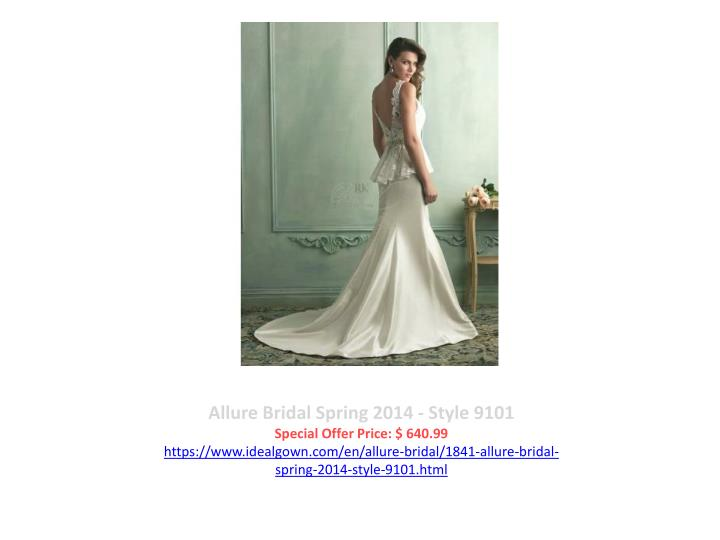 Allure Bridal Spring 2014 - Style 9101