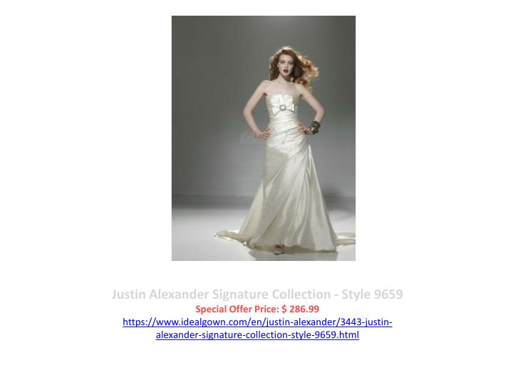 Justin Alexander Signature Collection - Style 9659