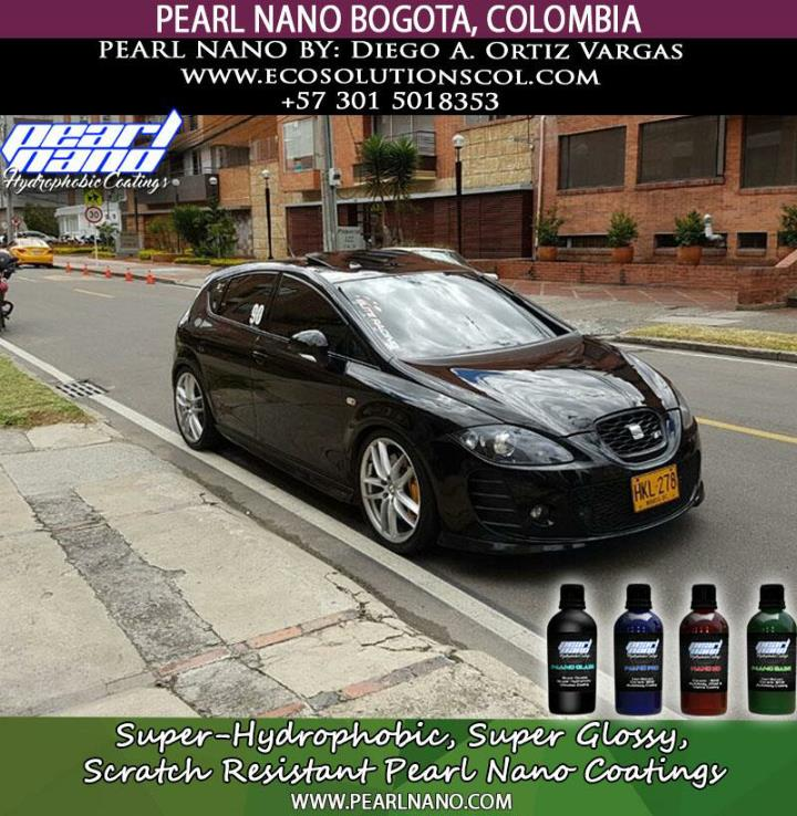 Pearl nano super hydrophobic coating by diego pearl nano super hydrophobic coating by diego vargaz of eco solutions b