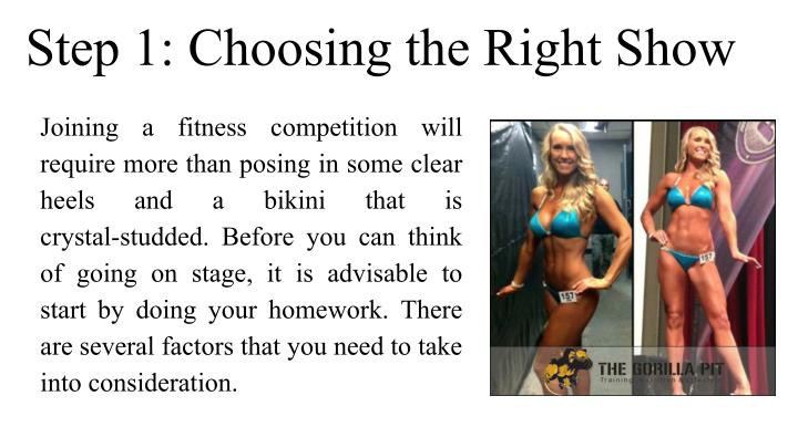 Step 1: Choosing the Right Show