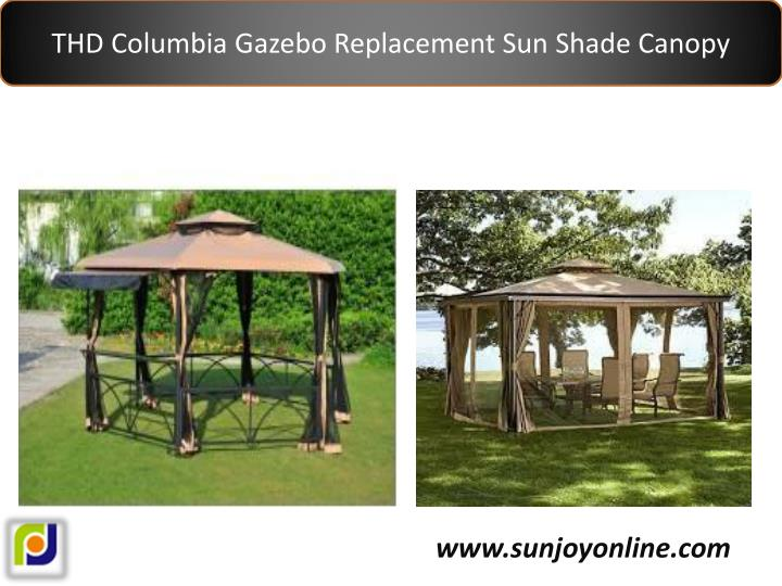 THD Columbia Gazebo Replacement Sun Shade Canopy