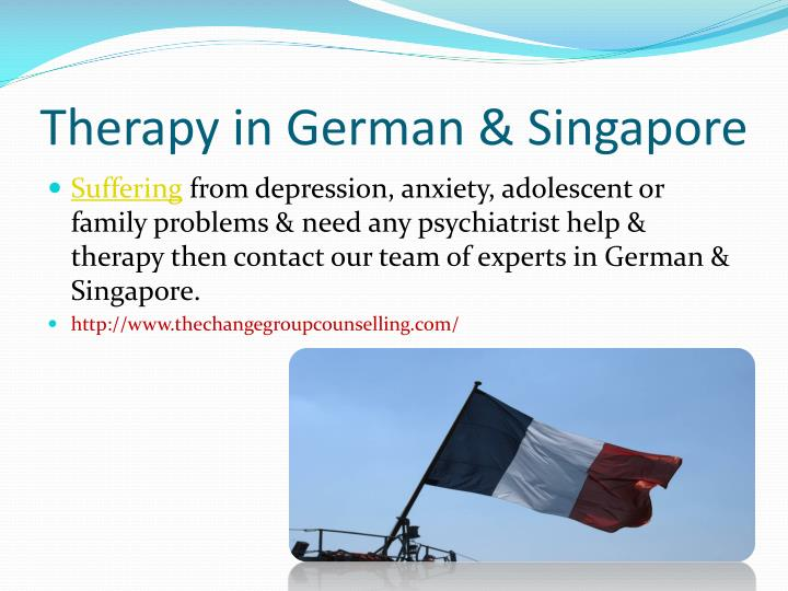 Therapy in German & Singapore