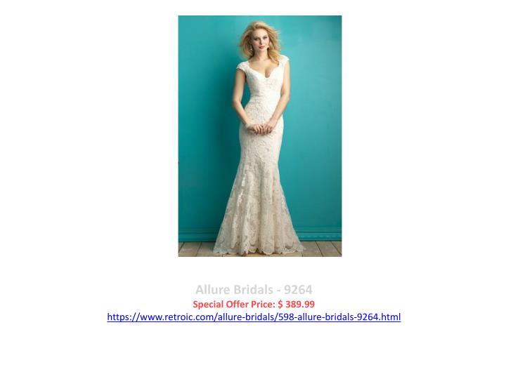 Allure Bridals - 9264