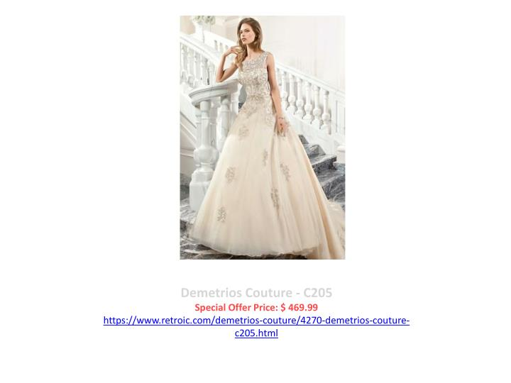 Demetrios Couture - C205