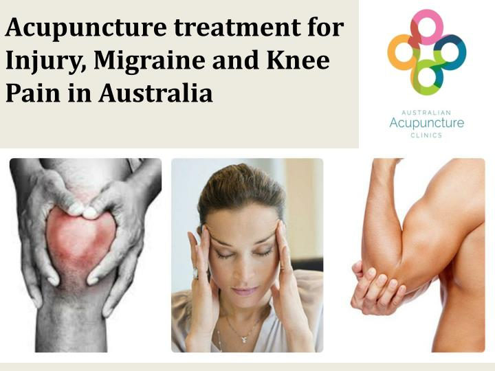 Acupuncture treatment for Injury,