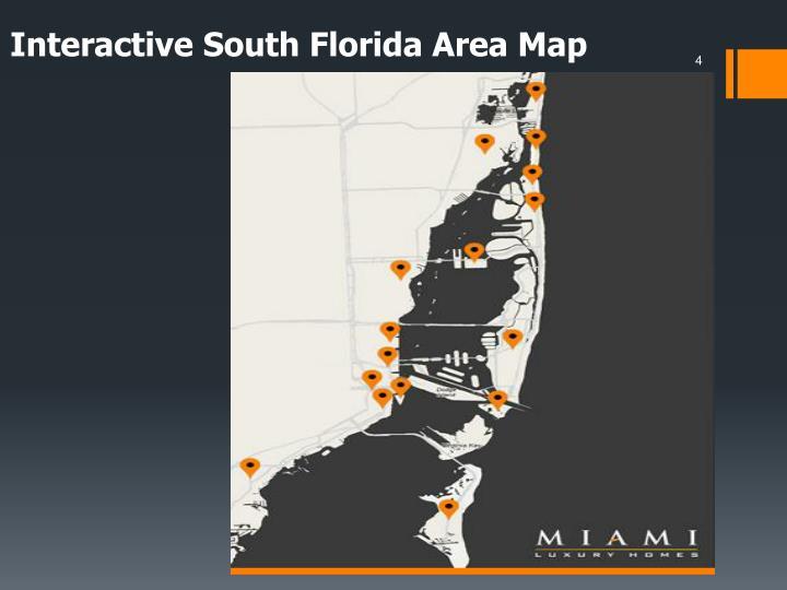 Interactive South Florida Area Map