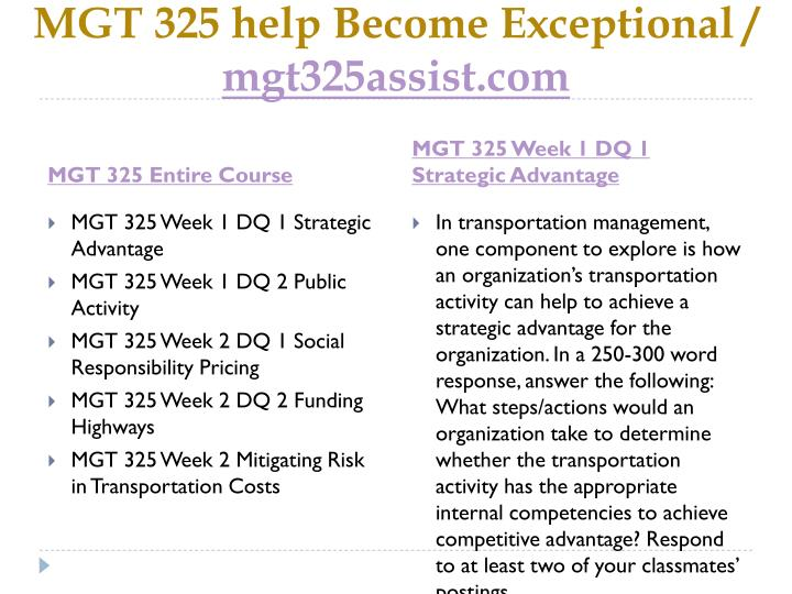 Mgt 325 help become exceptional mgt325assist com1