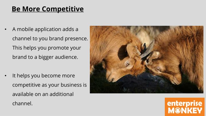 Be More Competitive