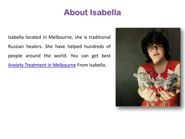 About Isabella