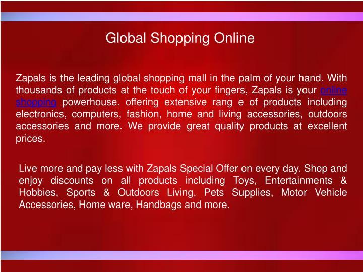 Global Shopping Online