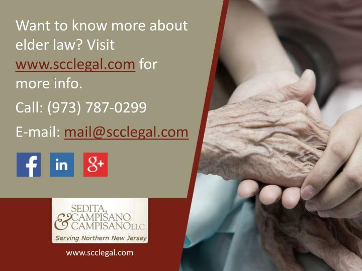 Want to know more about elder law? Visit
