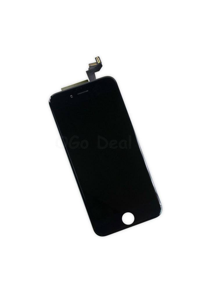 For apple iphone 6s digitizer and lcd screen assembly with frame replacement black