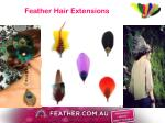 feather hair extensions1