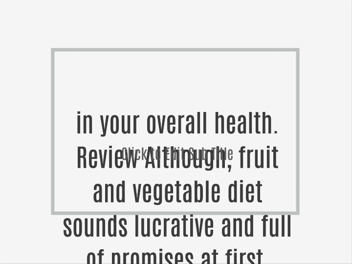 In your overall health.