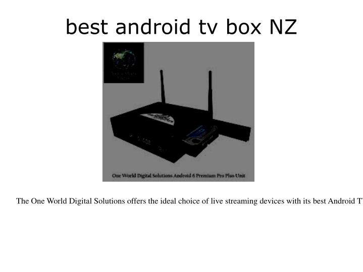 best android tv box NZ