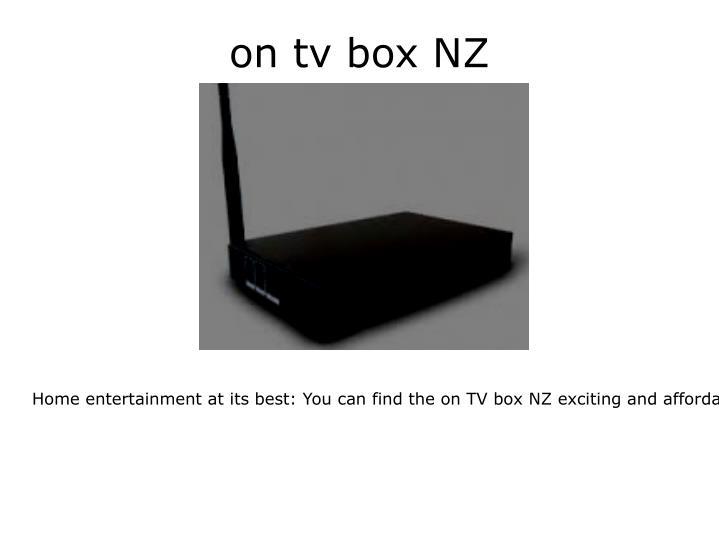 on tv box NZ