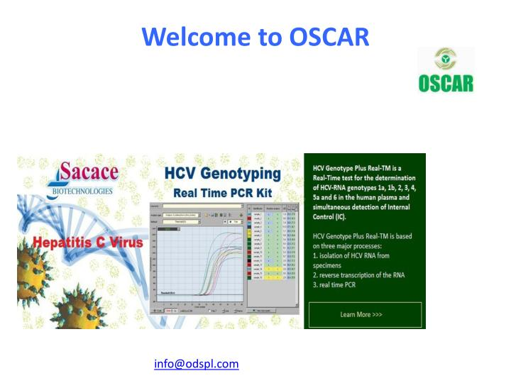Welcome to oscar