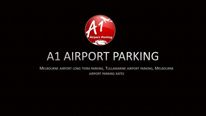 A1 airport parking