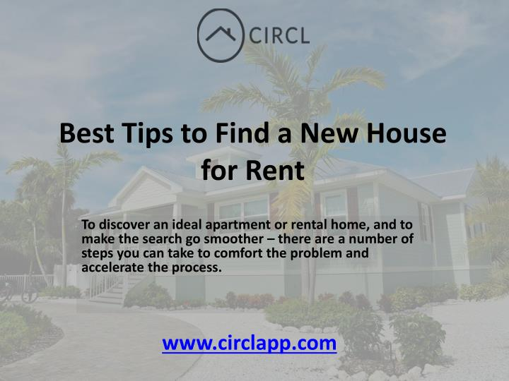 Best tips to find a new house for rent