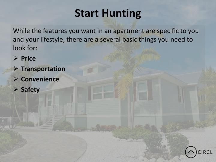Start Hunting