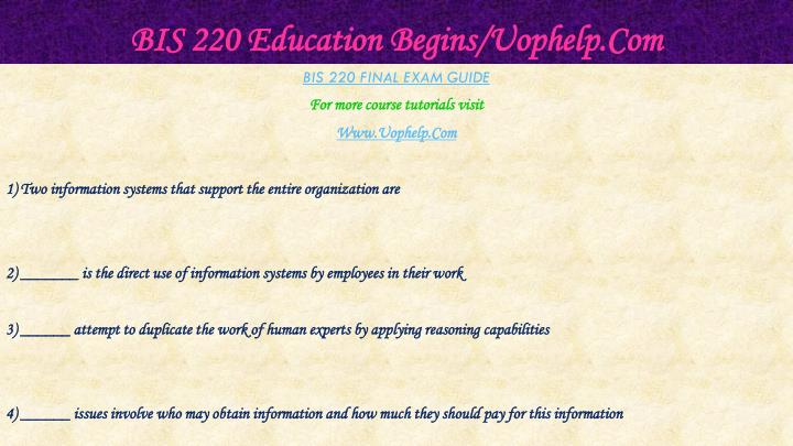 Bis 220 education begins uophelp com2