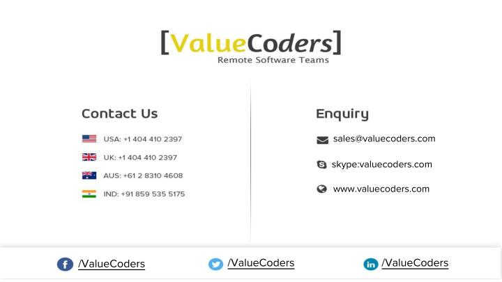 sales@valuecoders.com