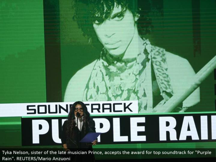 "Tyka Nelson, sister of the late skilled worker Prince, perceives the regard for top soundtrack for ""Purple Rain"". REUTERS/Mario Anzuoni"