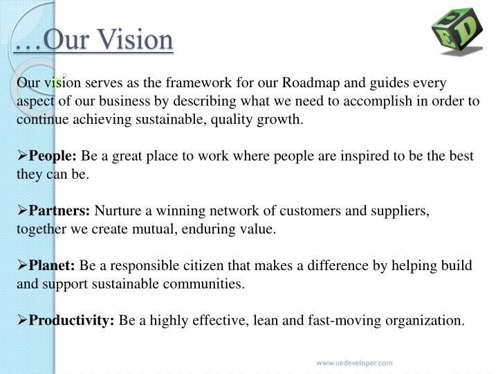 …Our Vision