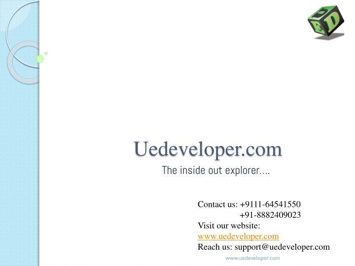 Uedeveloper.com