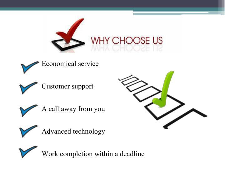 Economical service