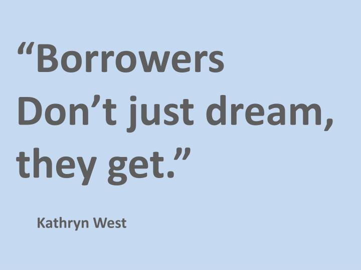 """Borrowers"