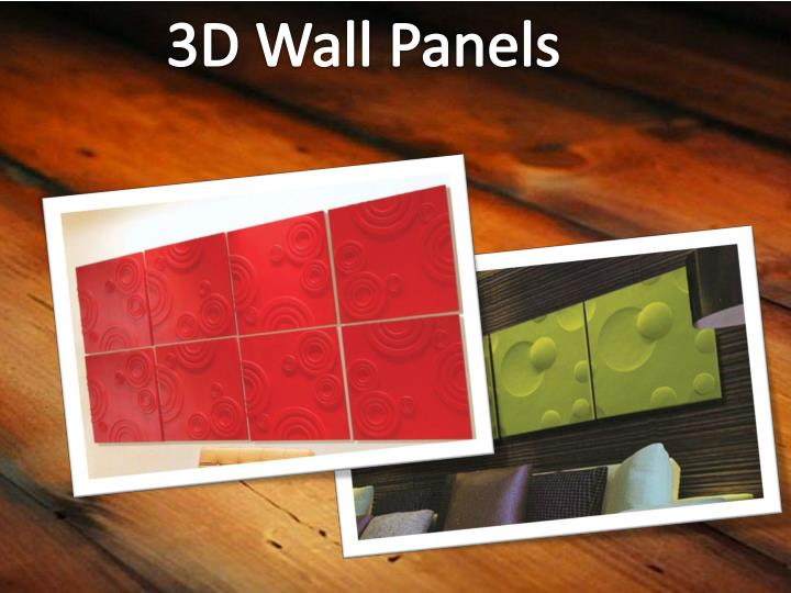 3DWallPanels