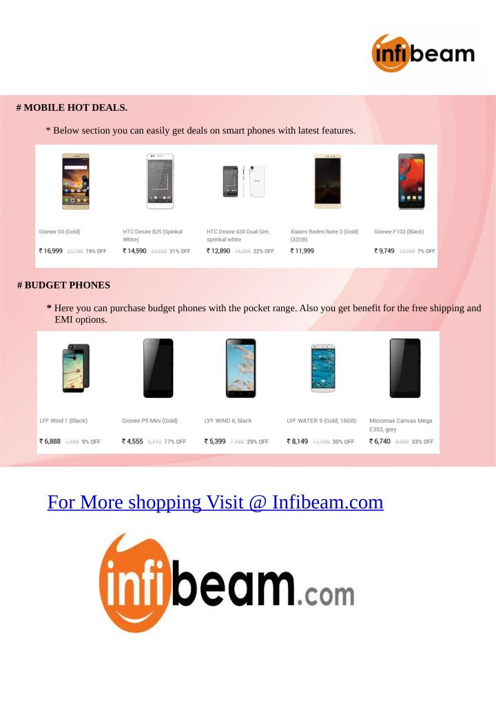 # MOBILE HOT DEALS.