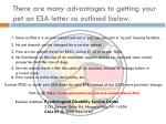 there are many advantages to getting your pet an esa letter as outlined below