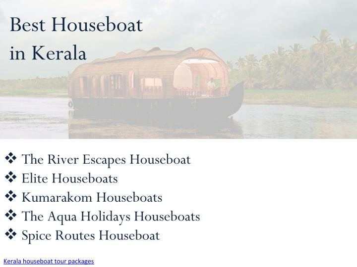 Best Houseboat