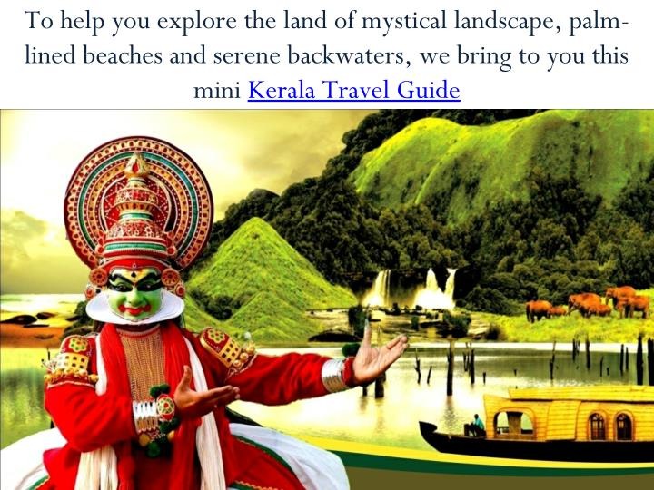 To help you explore the land of mystical landscape, palm-