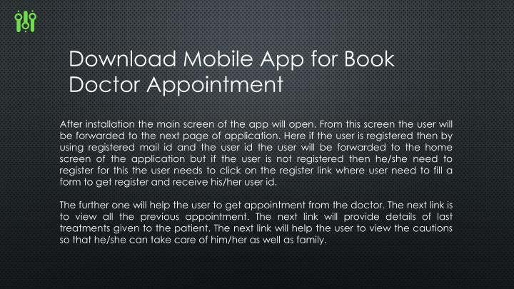 Download Mobile App for Book Doctor Appointment