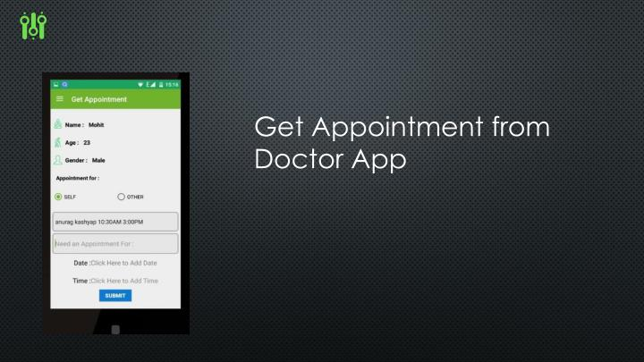 Get Appointment from Doctor App