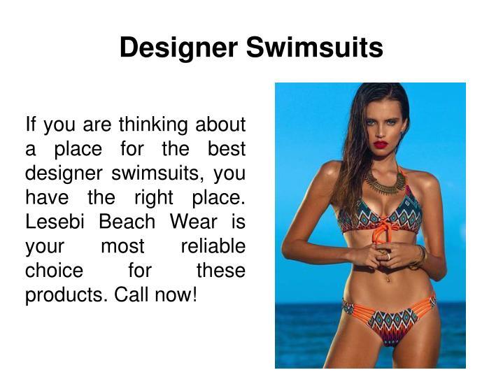 Designer Swimsuits