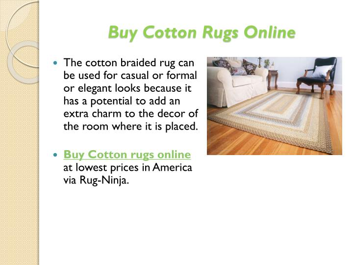 Buy Cotton Rugs Online