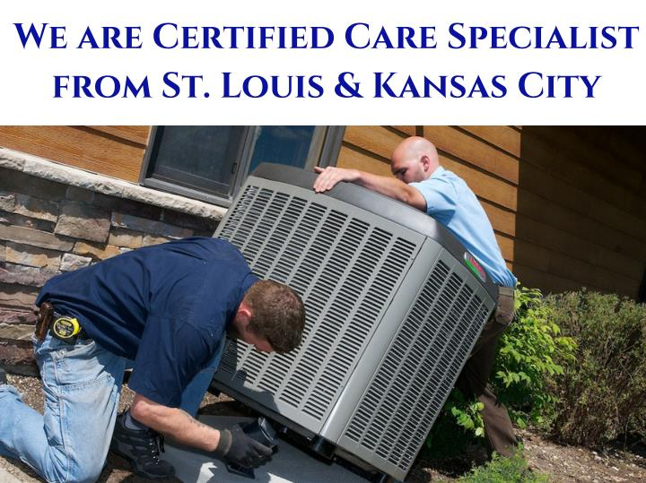 We are Certified Care Specialist