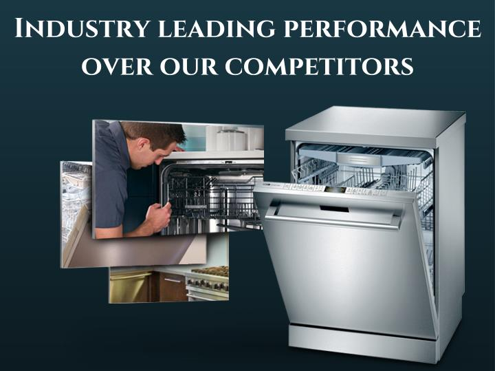 Industry leading performance
