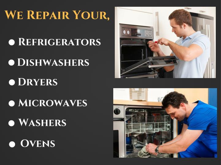We Repair Your,
