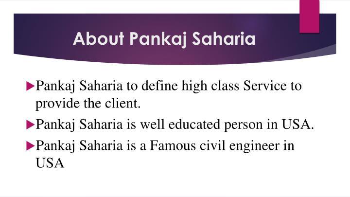 About Pankaj