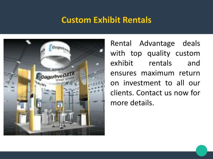 Custom Exhibit Rentals